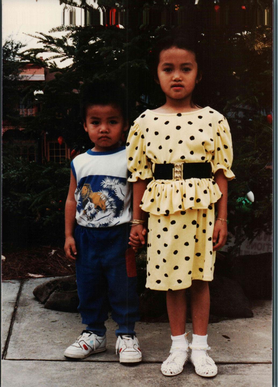 University of West Florida Graduate Hong Potomski, big sister little brother