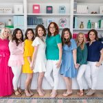 University of West Florida graduate Emily Ley and her sisterhood