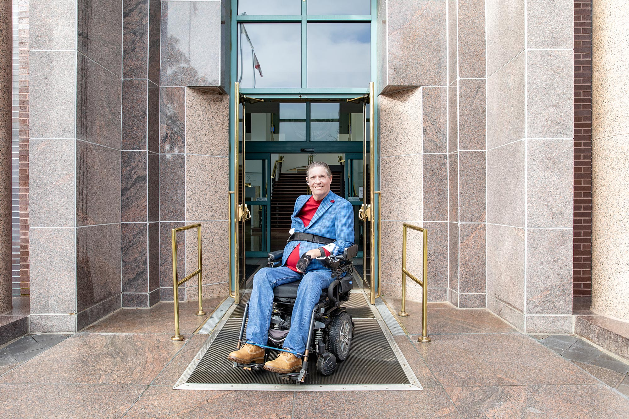 University of West Florida Graduate, Dr. Harding, disability advocate